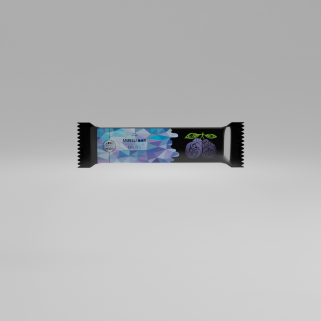 Muesli Blueberry bar